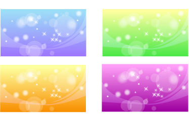 free vector A variety of fantasystyle vector background