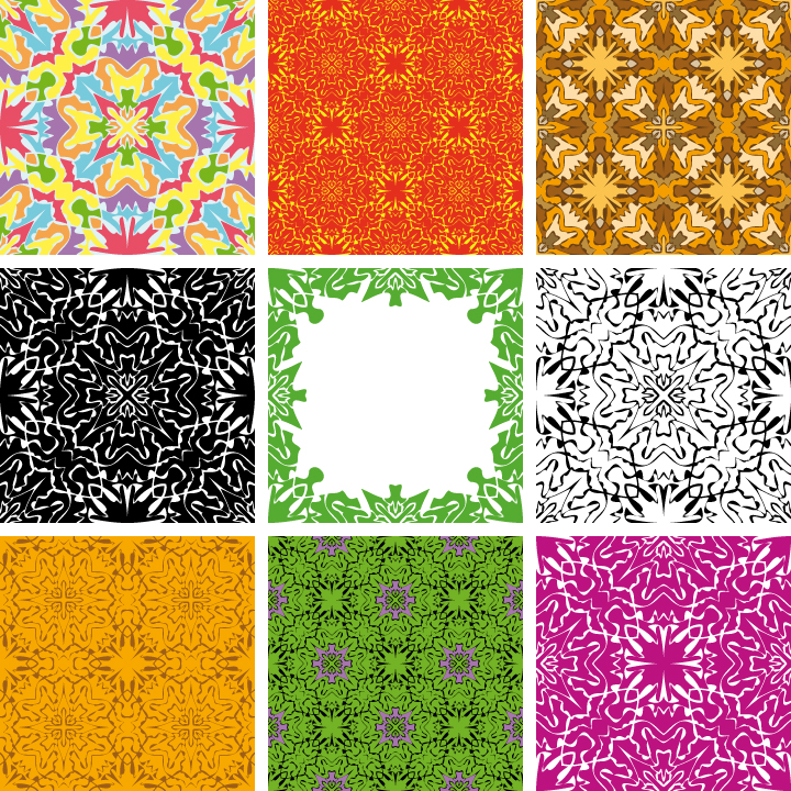 free vector A variety of lovely background vector 16433