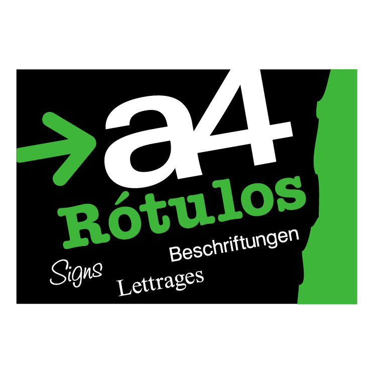 free vector A4 rotulos 0