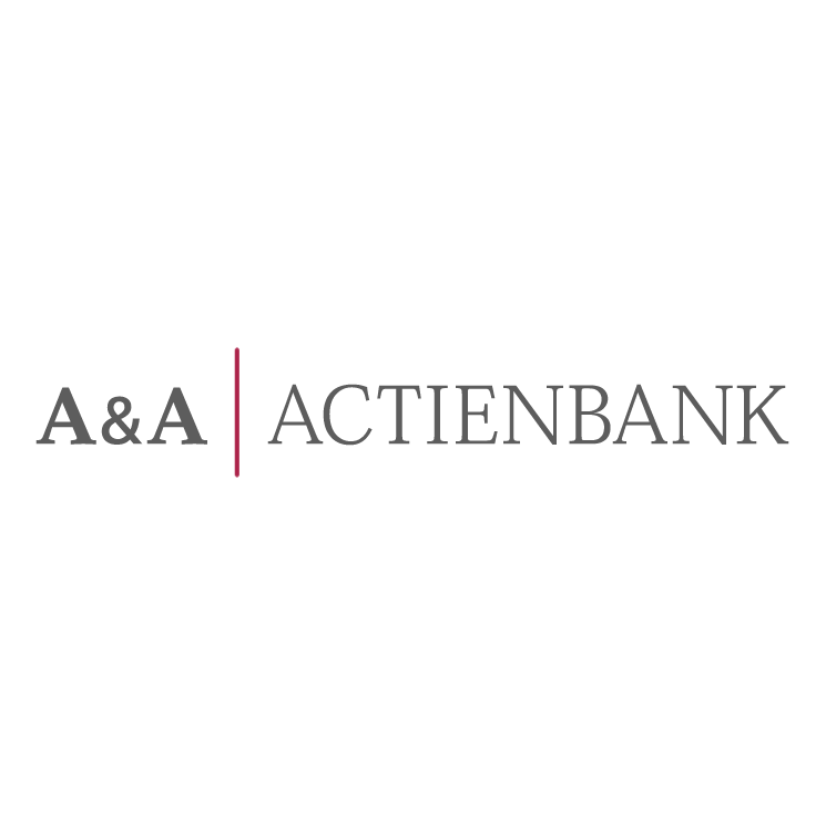 free vector Aa actienbank