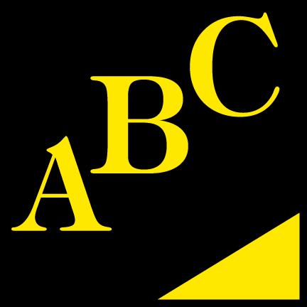 free vector ABC Gestion logo