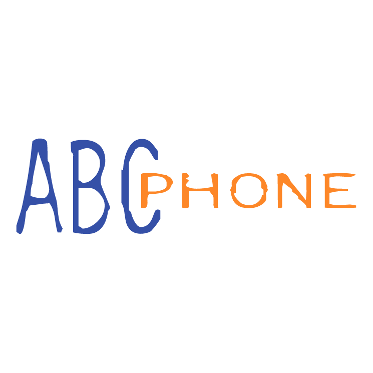 free vector Abc phone