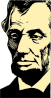 free vector Abraham Lincoln clip art