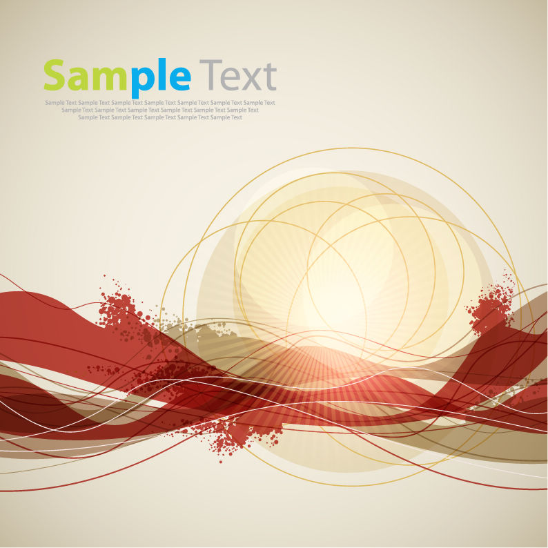 free vector Abstract Background Vector Art