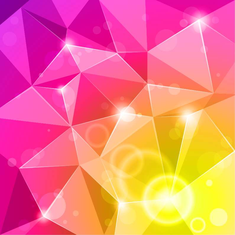 free vector Abstract Bright Background Vector Illustration