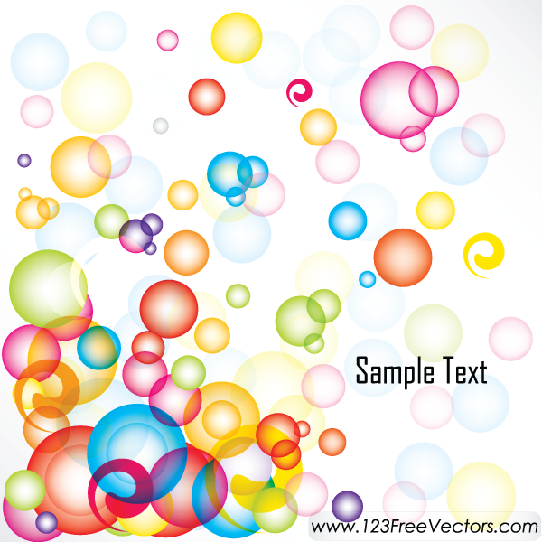 free vector Abstract Colorful Background Vector