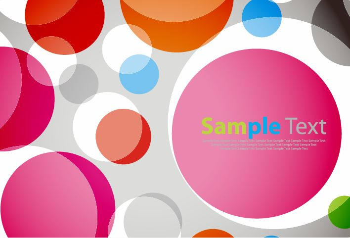 free vector Abstract Colorful Background
