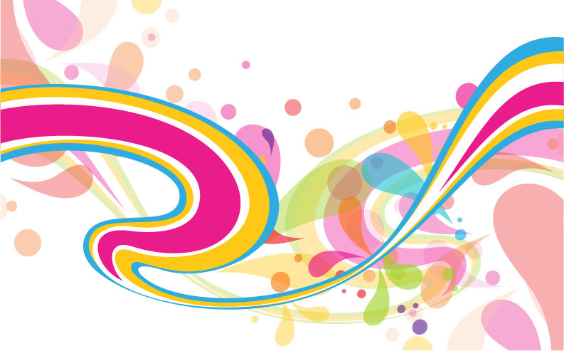 free vector Abstract Colorful Vector Background