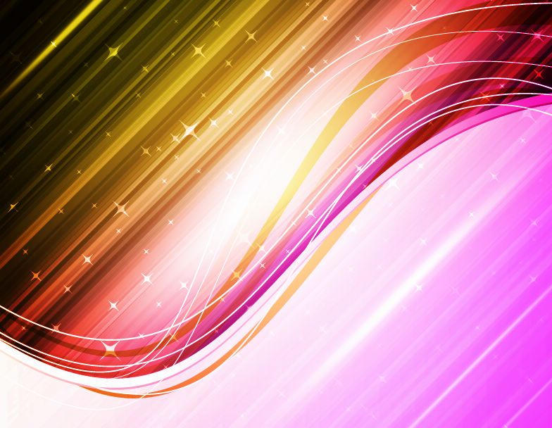 free vector Abstract Colorful Waves Vector
