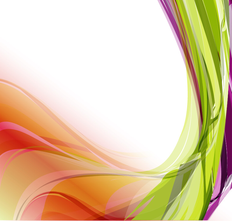 free vector Abstract Colorful Wavy Vector Background