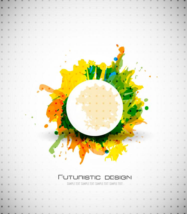 free vector Abstract design elements 04 vector