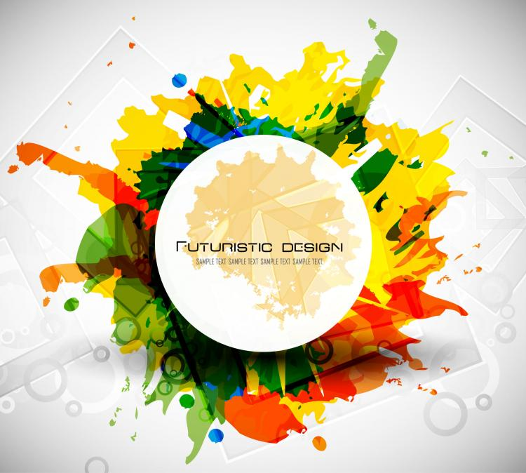 free vector Abstract design elements 05 vector