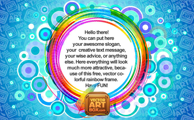 free vector Abstract Frame