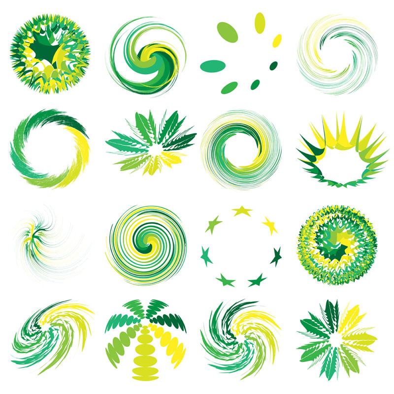 free vector Abstract graphic symbols 01 vector