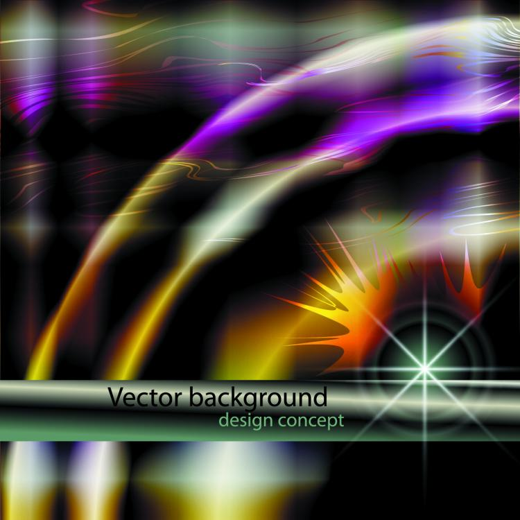 free vector Abstract light background 01 vector