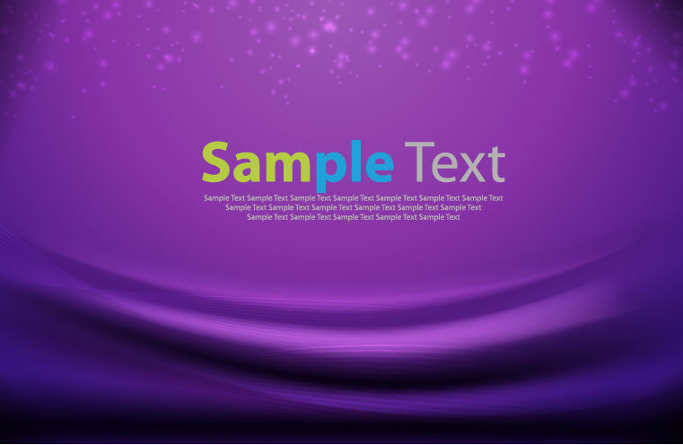free vector Abstract Purple Vector Background