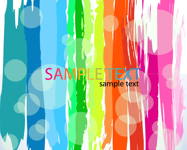 Abstract Rainbow Color Background 21897 Free Eps Download