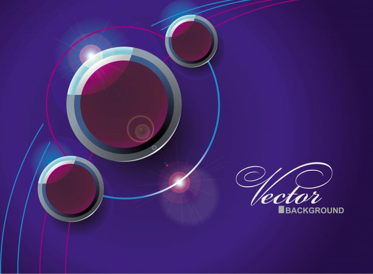 free vector Abstract vector background object 04 vector
