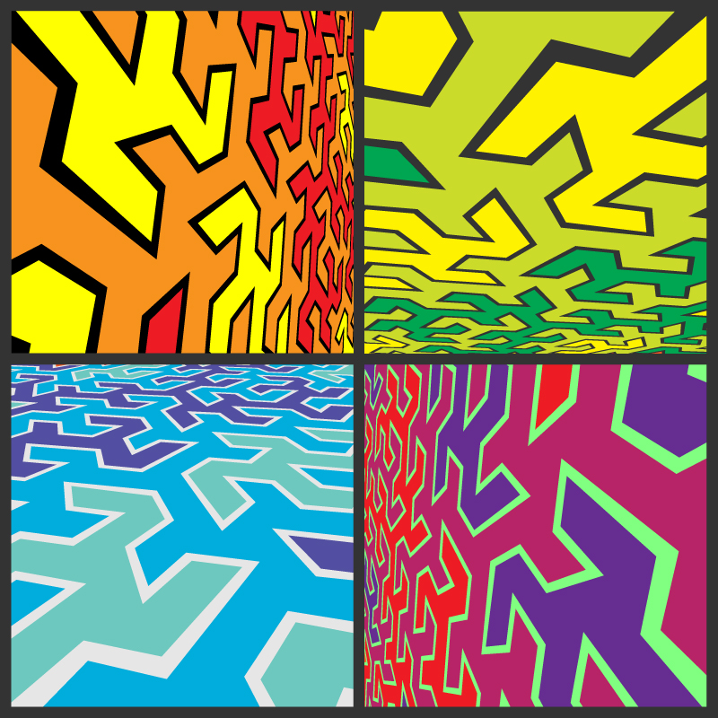 free vector Abstract Vector Background Pack