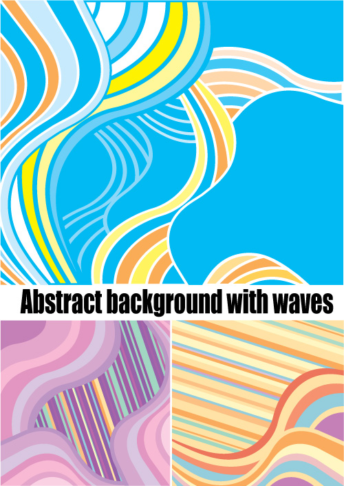 free vector Abstract vector background provisions