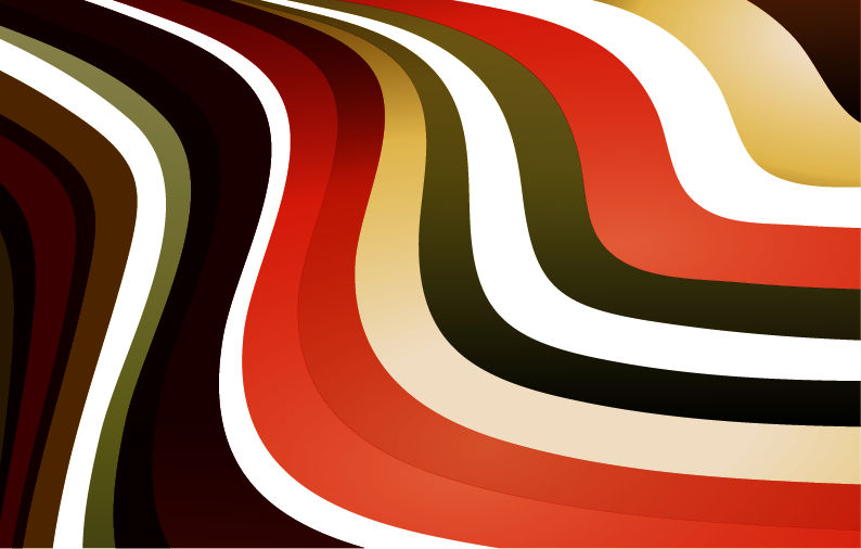 free vector Abstract Waves Vector Background