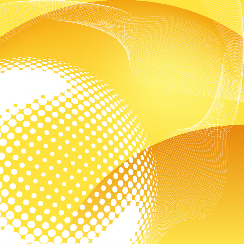 free vector Abstract Yellow Vector Background