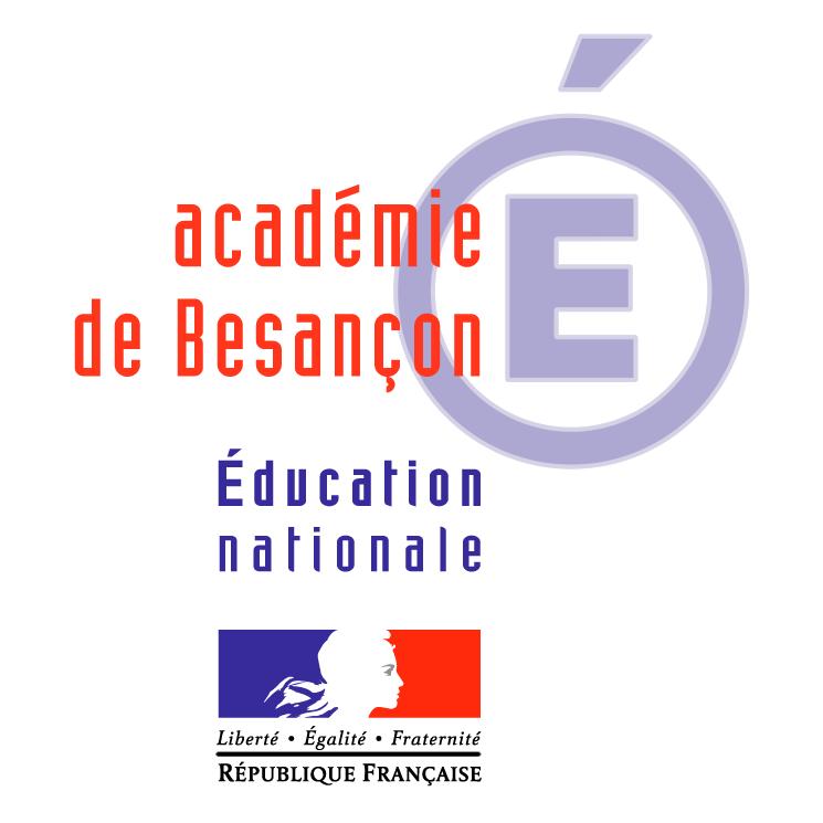 free vector Academie de besancon 0
