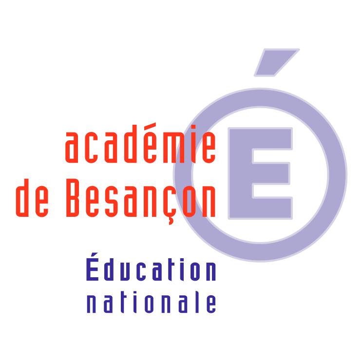 free vector Academie de besancon
