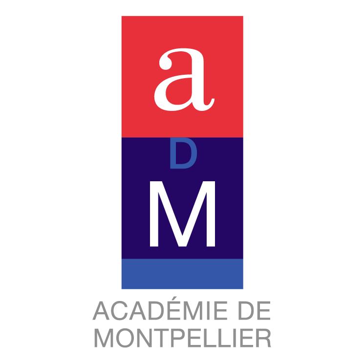 free vector Academie de montpellier 1