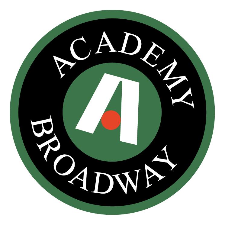 free vector Academy broadway
