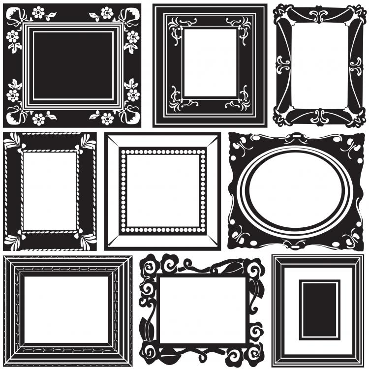accommodates frame lace vector material free vector 4vector rh 4vector com vector picture frame shapes vector picture frame shapes