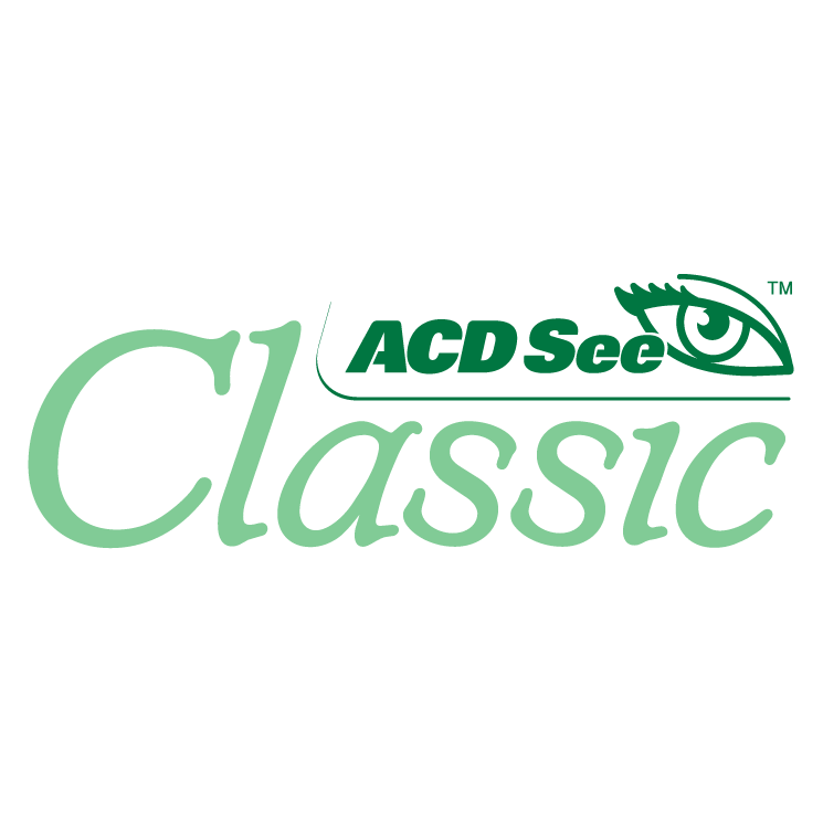 free vector Acdsee classic