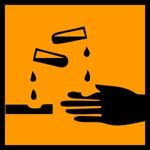 free vector Acidic Spill clip art