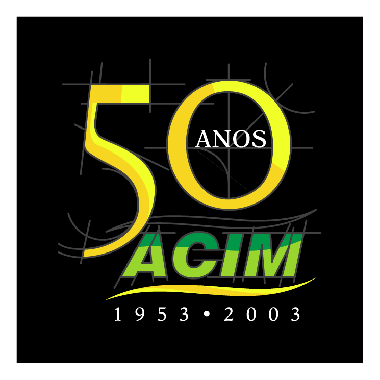 free vector Acim 50 anos