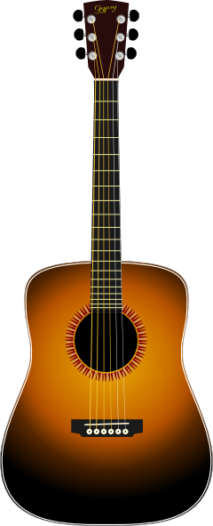 free vector Acoustic Guitar clip art