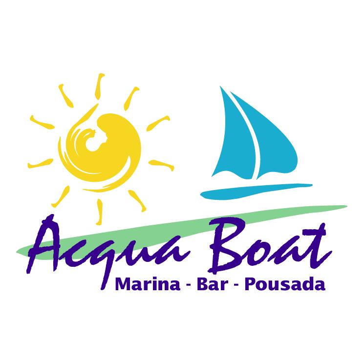 free vector Acqua boat