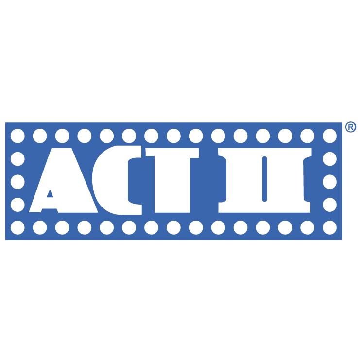 Bii Logo Vector Act ii is Free Vector Logo