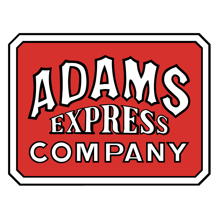 free vector Adams express company 0