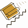 free vector Addon Piano Falls Down Stairs clip art