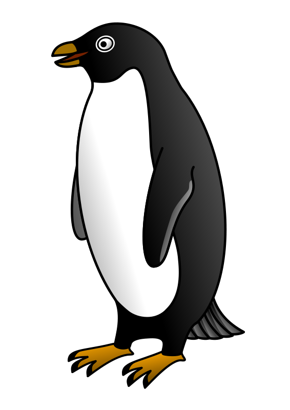 free vector Adelie penguin