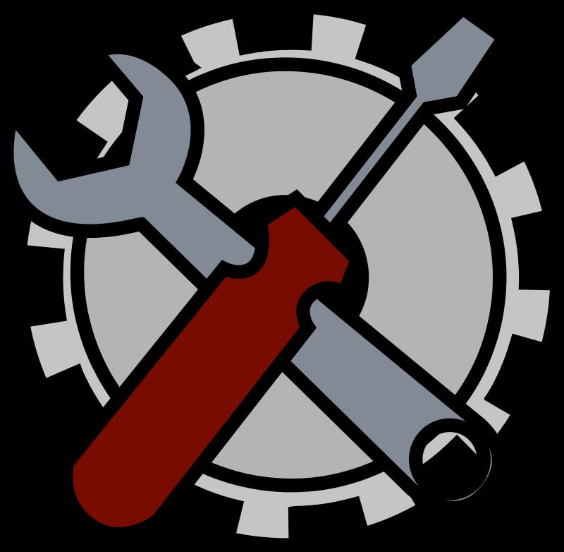 free vector Admin tools icon