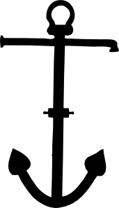 free vector Admiralty Pattern Anchor clip art