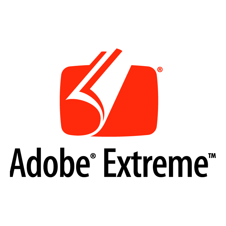 free vector Adobe extreme