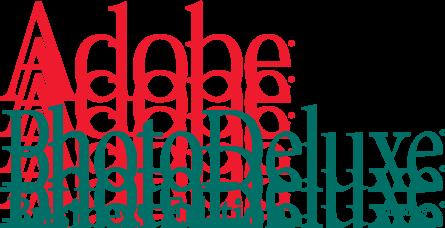 free vector Adobe PhotoDeluxe logo