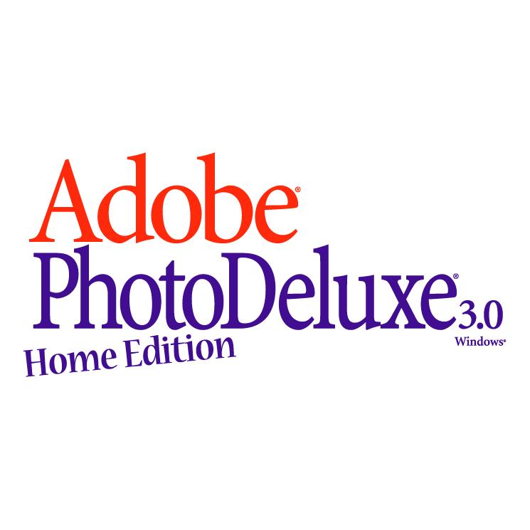 free vector Adobe photodeluxe