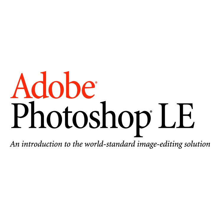 free vector Adobe photoshop le