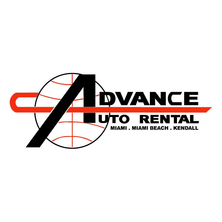 free vector Advance auto rental