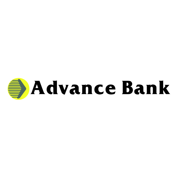 free vector Advance bank
