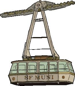 free vector Aerial Tramway clip art