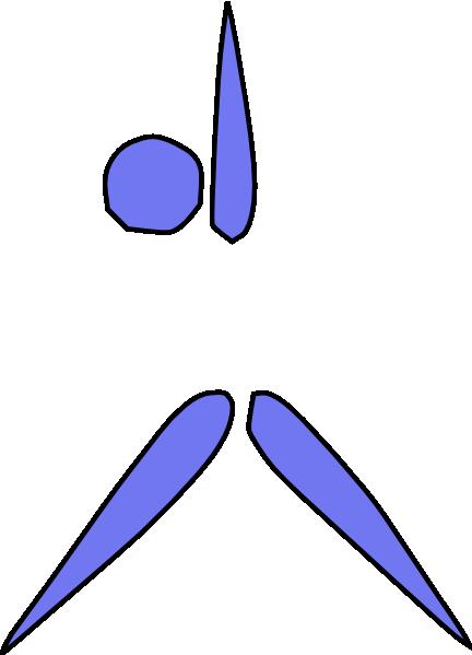 free vector Aerobics Exercising clip art